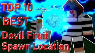 Top 10 Best Devil Fruit Spawn Location & Devil Fruit Giveaway !   One Piece Pirates Wrath   ROBLOX