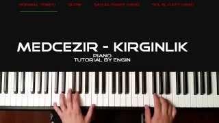 (PIANO TUTORIAL) medcezir dizi muzigi- kirginlik