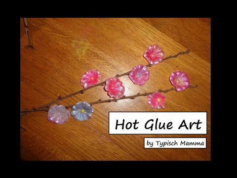 Hot Glue Art - diy NL - by Typisch Mamma