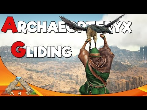 ARCHAEOPTERYX GLIDING | ARK Scorched Earth