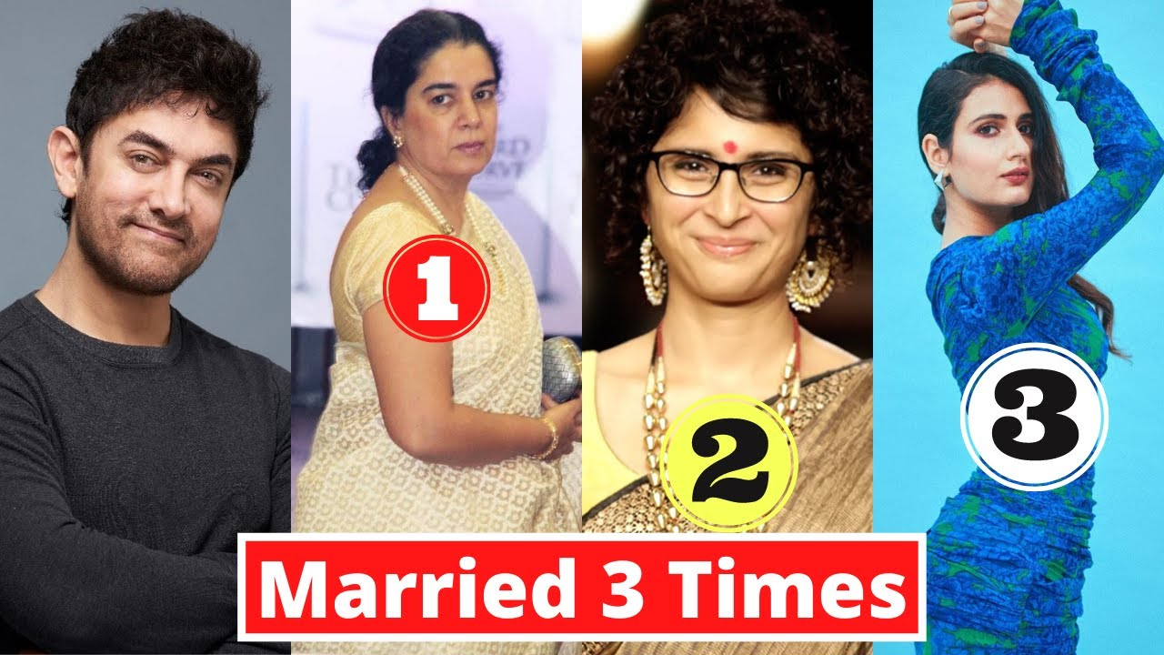New List Of 9 Bollywood Actors Who Got Married 3 Times Or More - 2021