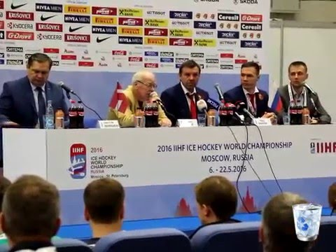 Latvia - Russian Federation  |  Post-match Press Conference / Латвия - Россия пресс конференция