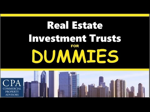 Real Estate Investment Trusts for Dummies