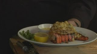 How To Cook Stuffed Lobster Tails : Surf & Turf