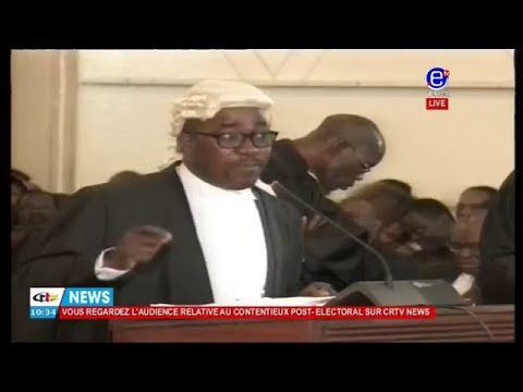 Bar Felix AGBOR  NKONGHO  talks about  Anglophone crisis to the constitutional council