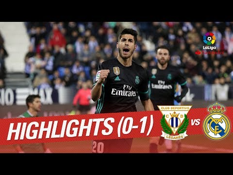 Resumen de CD Leganés vs Real Madrid (0-1)