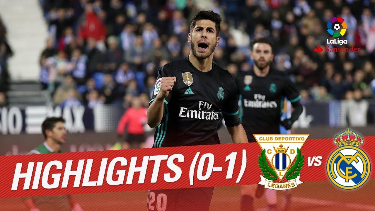 Real Madrid Vs Leganes English Highlights