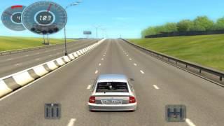 3d instruktor 2.2.7. - Разгон ВАЗ 2172 PRIORA (Gameplay)