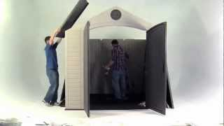 How To Assemble Your Lifetime Storage Shed