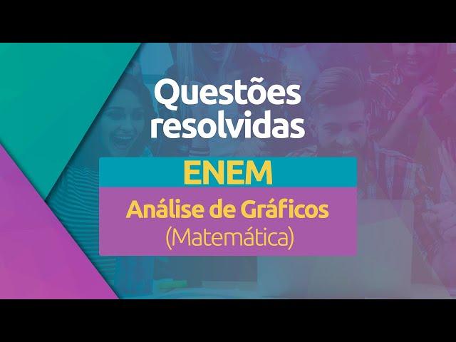 Questões Cobradas no ENEM - Análise de Gráficos (Matemática)