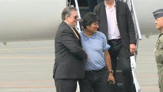 Bolivia's Evo Morales arrives in Mexico under political asylum (3) | AFP