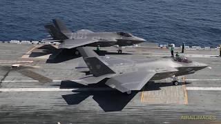 F-35C on USS Lincoln September 2017