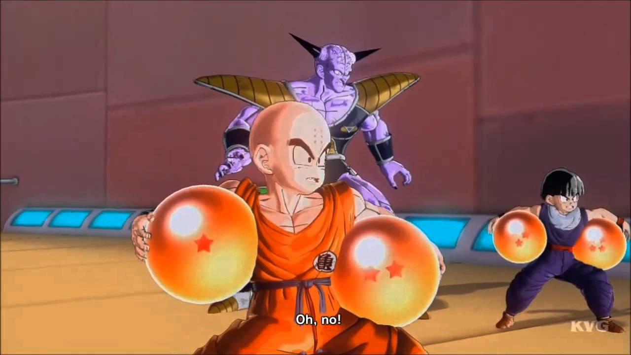 Dragon Ball Xenoverse Gohan Kid Krillin Vs Appule Raspberry Guldo Navel Story Battle 12