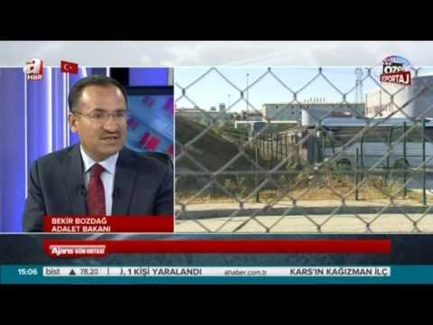 Adalet Bakanı Bekir Bozdağ: Genel af gündemde yok