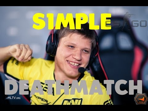 S1mple Playing PRO Deathmatch!