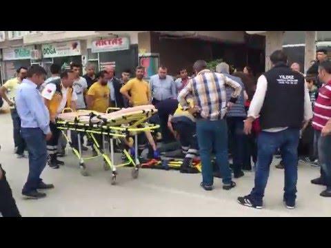 Erbaa'da Trafik Kazası