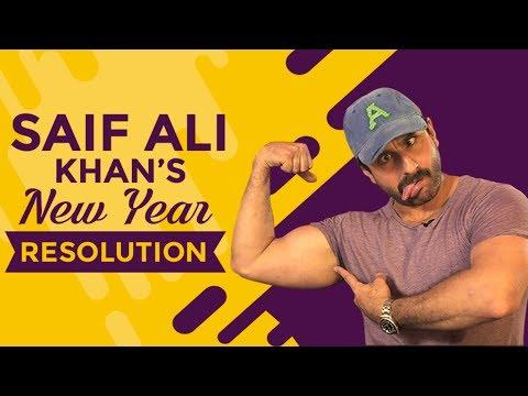 Saif Ali Khan's New Year Resolution  ...