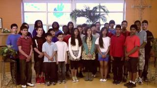 St. Pio of Pietrelcina students perform Oji-Cree version of O