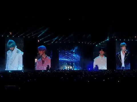 [FANCAM] BTS Jin, Jimin, V/Taehyung, Jungkook 'The Truth Untold' LOVE YOURSELF TOUR IN SINGAPORE