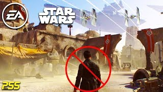 Ea's Star Wars Open World Game Is Cancelled, But Not Quite? (ps4 Pro Battlefront 2 Gameplay)