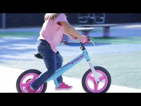 885d1cc59d Bicicleta infantil equilíbrio balance Run Ride B'twin - Exclusividade  Decathlon