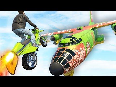 GTA 5 Online :: BOMBUSHKA STUNT IN GTA! :: Stunts, Wins & Funny Moments
