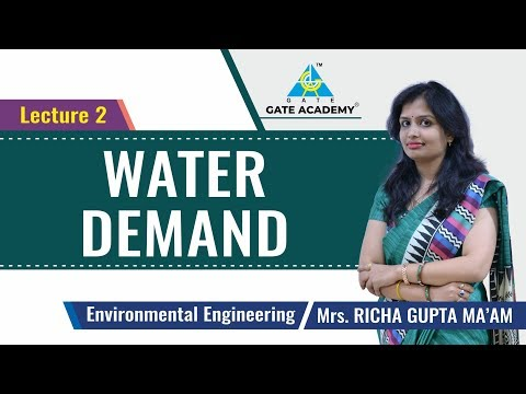 Water Demand   Lecture 2   Environmental Engineering