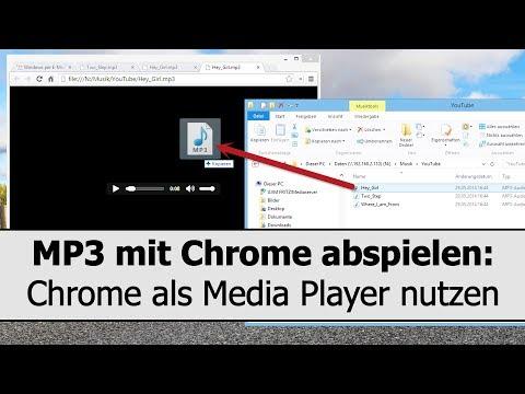 MP3 und Videos in Google Chrome abspielen - Chrome als Mediaplayer nutzen