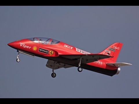 HSD RC Ferrari Turbine Jet Training Course by Hero4 session