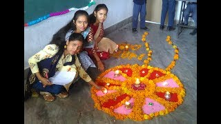 Pollution free Diwali celebrate by Muni International School students