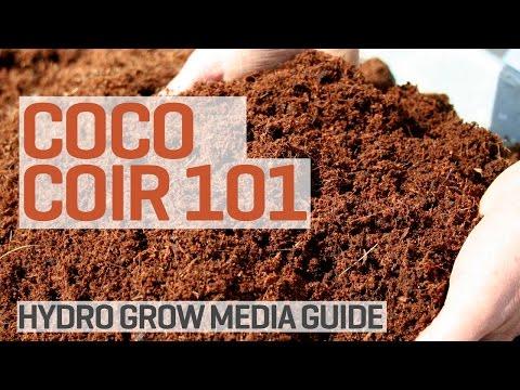 Coco Coir Grow Media Hydroponics 101