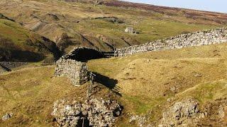Yorkshire Dales Country Walk - Arkengarthdale - Reeth-Arkle Beck-Langthwaite-Fremington Edge round