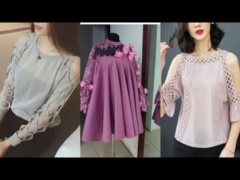 Most Latest Stylish Tops Designs Collection For Girls To Wear With Jeans