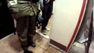 18+ Пожар Лихачевский проспект д.68к1 на 16 этаже горит балкон