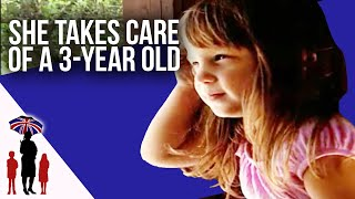 4 year old girl looks after 3 year old autistic brother | Supernanny