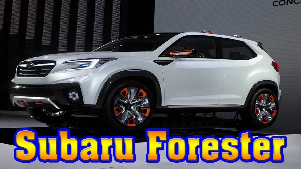Look This 2019 Subaru Forester Redesign Youtube