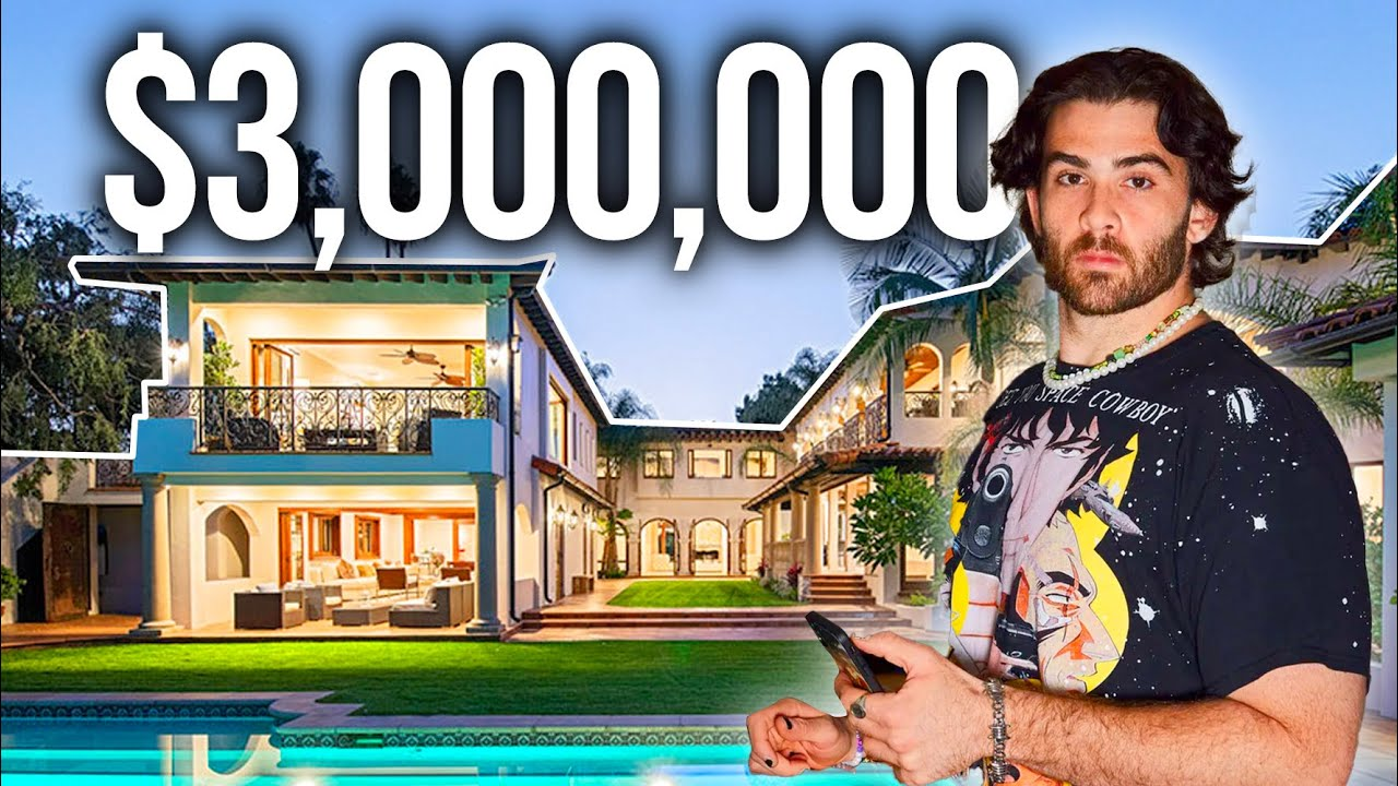Download INSIDE Hasan Piker's $3,000,000 House