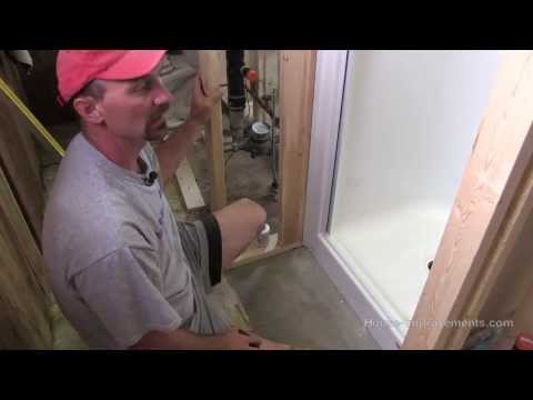 How To Install A Fiberglass Shower