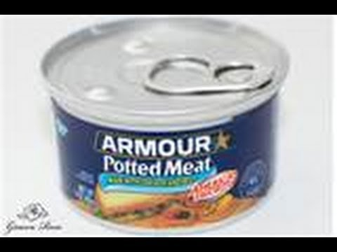 How do they make potted meat