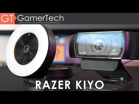 Razer Kiyo   TEST   La webcam des streamers ? Mieux que la Logitech C920 ?