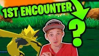 OUR 1ST ENCOUNTER...   Pokémon Ultra Sun Randomizer Nuzlocke #2 - Ultra Sun and Moon Randomizer