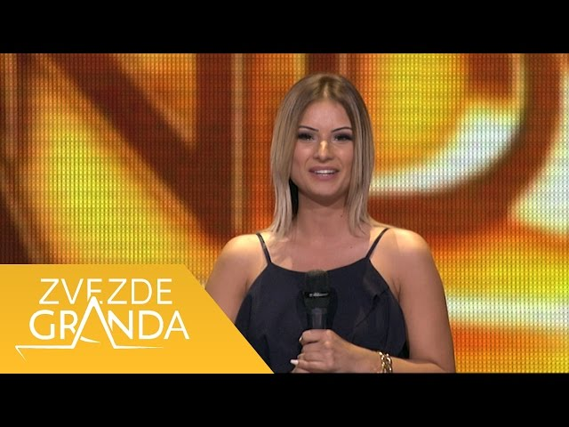 Amela Brdar - Izdao si me, Afrika - (live) - ZG 1 krug 16/17 - 15.10.16. EM 4