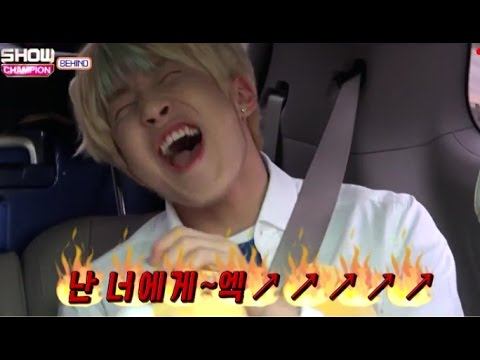Astro singing/dancing to other groups' songs