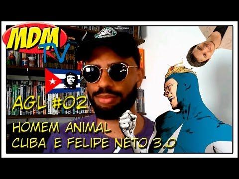A gente lemos 002: Homem Animal e Cuba, minha revolução