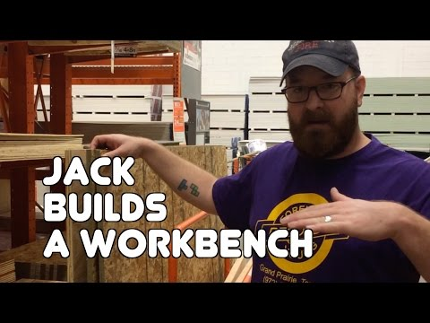 Jack Builds A Workbench!