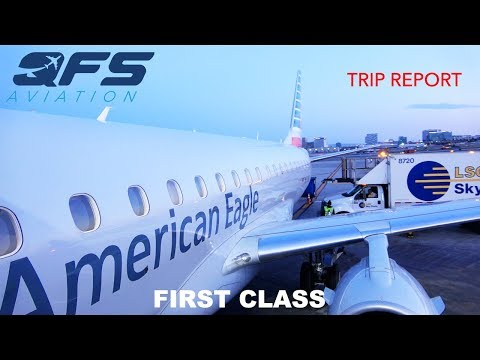 TRIP REPORT | American Airlines - E175 - Sacramento (SMF) to Los Angeles (LAX) | First Class