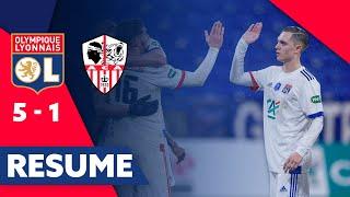 Résumé OL - AC Ajaccio | 32e de finale Coupe de France | Olympique Lyonnais