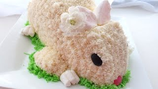 Spring Easter Bunny Cake | MCC