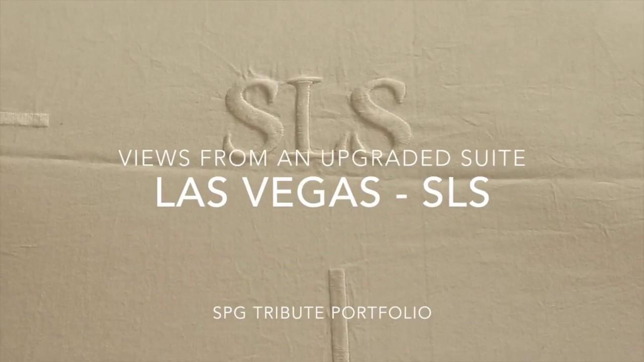 go big or go home  SLS Las Vegas Suite with EPIC sunrise timelapse