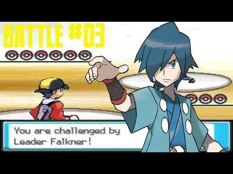 Pokémon Sacred Gold - Battle #3: Violet City Gym Leader Falkner